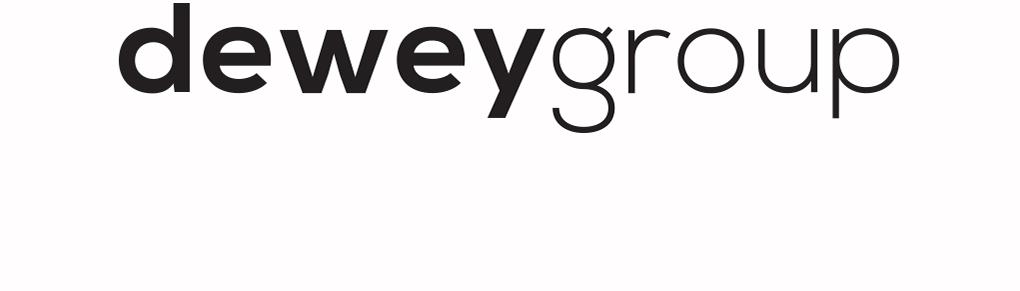 Dewey Group company logo branding