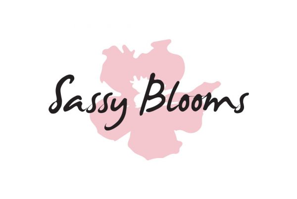 Sassy Blooms company logo creative reviews and about us and branding