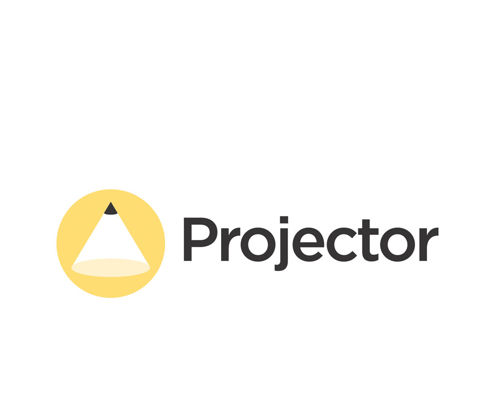 Projector company logo about us