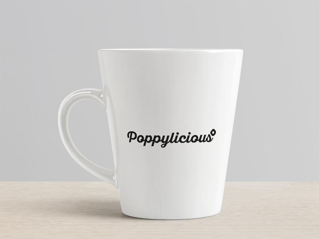 Poppylicious logo example creative work branding